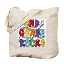 Bright Colors 2nd Grade Tote Bag