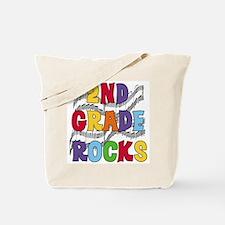 Bright Colors 2nd Grade Tote Bag