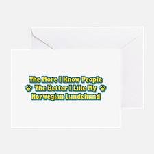 Like Lundehund Greeting Cards (Pk of 10)