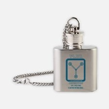 Time Travel Flask Necklace
