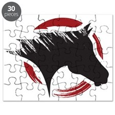 Crow Dog Farm Horse Head Puzzle