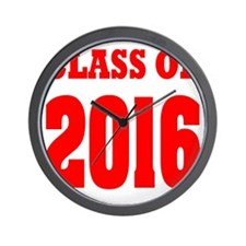 Class of 2016: Wall Clock
