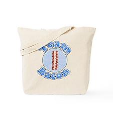 Vintage Team bacon 1 Tote Bag