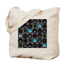 instruments_fabric Tote Bag