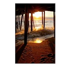 Pier Sunrise Postcards (Package of 8)
