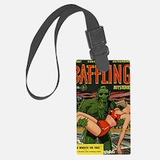 Baffling Mysteries Classic Comic Luggage Tag