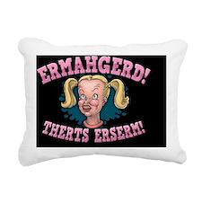 ermahgerd-col-OV Rectangular Canvas Pillow