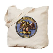 uss providence patch transparent Tote Bag