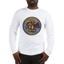 uss providence patch transpare Long Sleeve T-Shirt