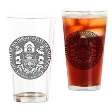 San Diego Seal Drinking Glass