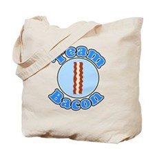 Team bacon 1 Tote Bag