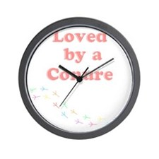 Loved by a Conure Wall Clock