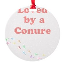 Loved by a Conure Ornament