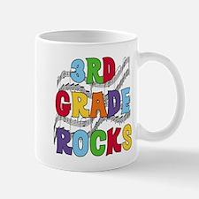Bright Colors 3rd Grade Mug