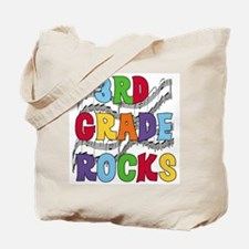 Bright Colors 3rd Grade Tote Bag
