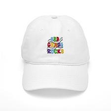 Bright Colors 3rd Grade Baseball Cap