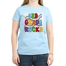Bright Colors 3rd Grade T-Shirt