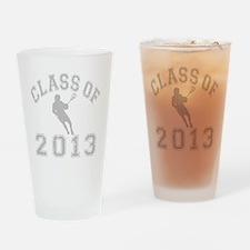 Class Of 2013 Lacrosse Drinking Glass
