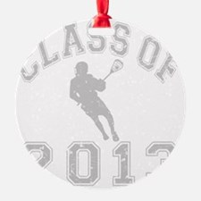 Class Of 2013 Lacrosse Ornament