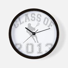 Class Of 2013 Lacrosse Wall Clock