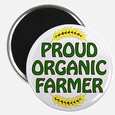 Proud organic Farmer Magnet