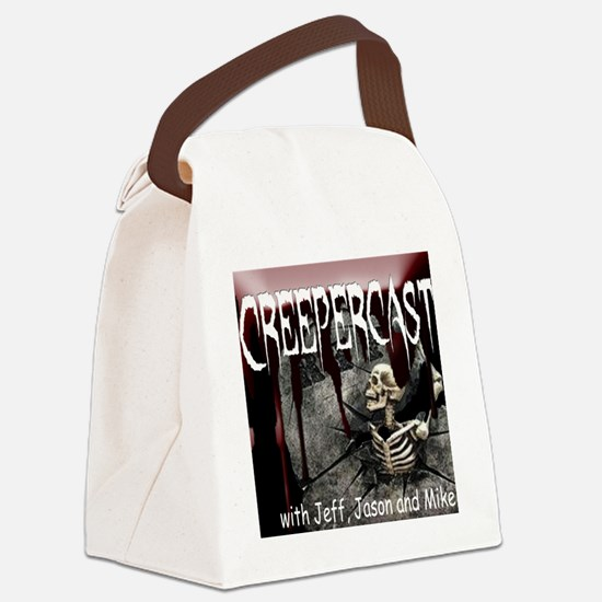 Creepercast Grave Canvas Lunch Bag