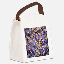 Blue Crab Canvas Lunch Bag