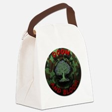 DOOM AND BLOOM CAMO DESIGN Canvas Lunch Bag
