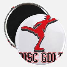 Megatron Disc Golfer Magnet