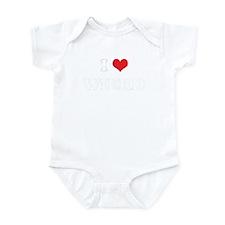 I Heart WIERD Infant Bodysuit