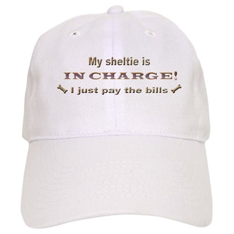 Sheltie in Charge Cap