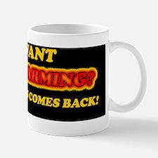 Jesus and Global Warming Mug