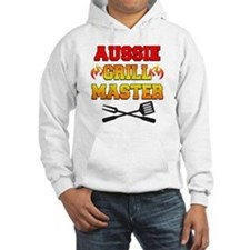 Aussie Grill Master funny apron Jumper Hoody