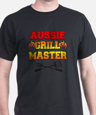 Aussie Grill Master funny apron T-Shirt