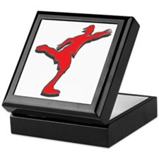 Red Discer Keepsake Box