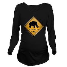 Mammoth Crossing Sig Long Sleeve Maternity T-Shirt