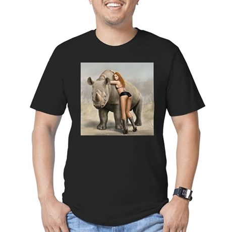 Girl and rinho T-Shirt