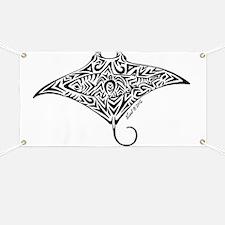 Hawaiian Manta Banner