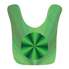 Green Illusion Bib