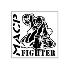 "MACP Fighter Square Sticker 3"" x 3"""