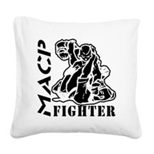 MACP Fighter Square Canvas Pillow