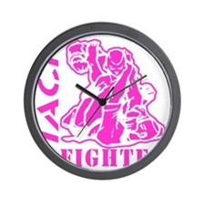 MACP Fighter Pink Wall Clock