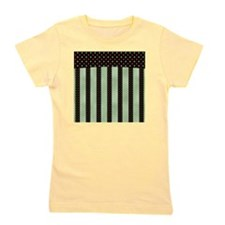 Red and Green Dots Girl's Tee
