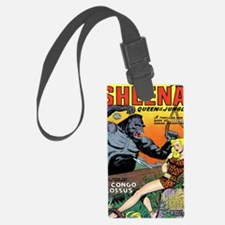 Sheena Queen of the Jungle Class Luggage Tag