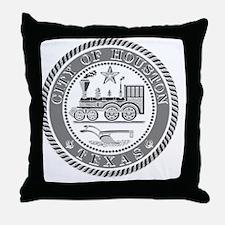 Houston Seal Throw Pillow