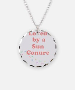 Loved by a  Sun Conure Necklace