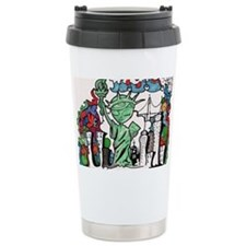 graffiti new york city Travel Mug