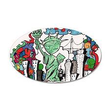 graffiti new york city Wall Decal