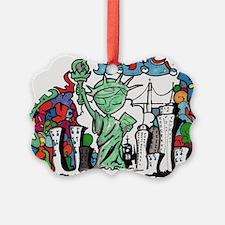 graffiti new york city Ornament