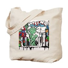 graffiti new york city Tote Bag